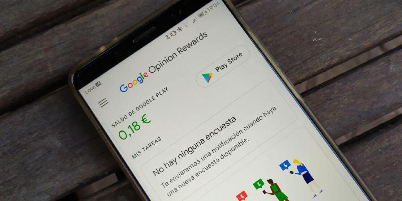 Cómo funciona Google Opinion Rewards
