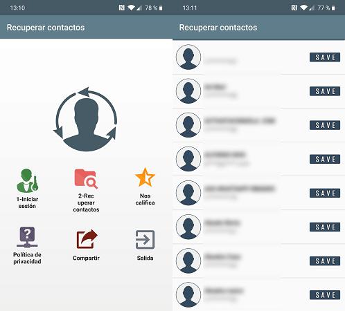 Imagen - Cómo recuperar contactos borrados en Android