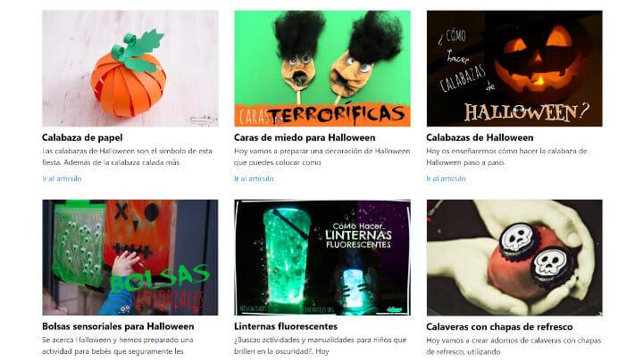 Imagen - 10 webs donde encontrar manualidades para Halloween