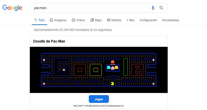 Imagen - Cómo jugar a Google Pacman