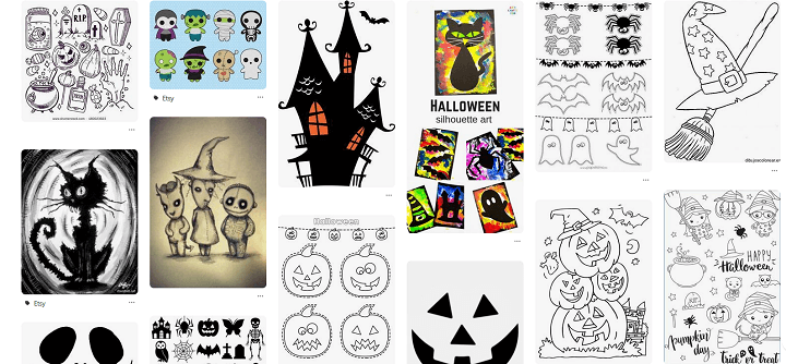Imagen - 7 webs donde encontrar dibujos para Halloween
