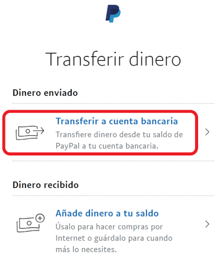 Imagen - Cómo retirar dinero de PayPal