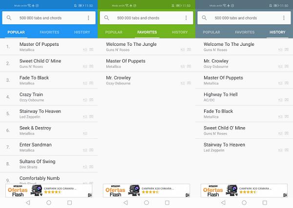 Imagen - Songsterr Guitar Tabs & Chords, aprende a tocar la guitarra en Android