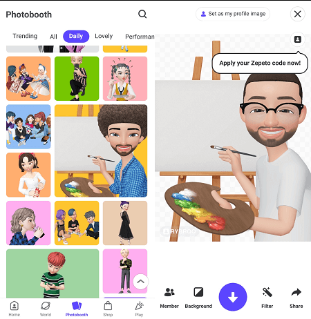 Imagen - Zepeto, la app para crear tu propio clon virtual