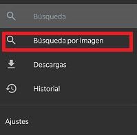Imagen - Cómo buscar por imagen en Android