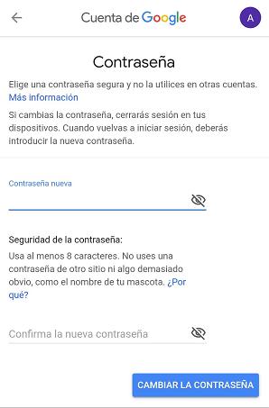 Imagen - Gmail: cómo cambiar la contraseña
