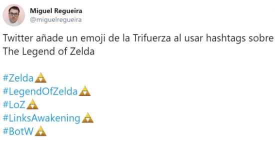 Imagen - Cómo activar el emoji de la Trifuerza en Twitter