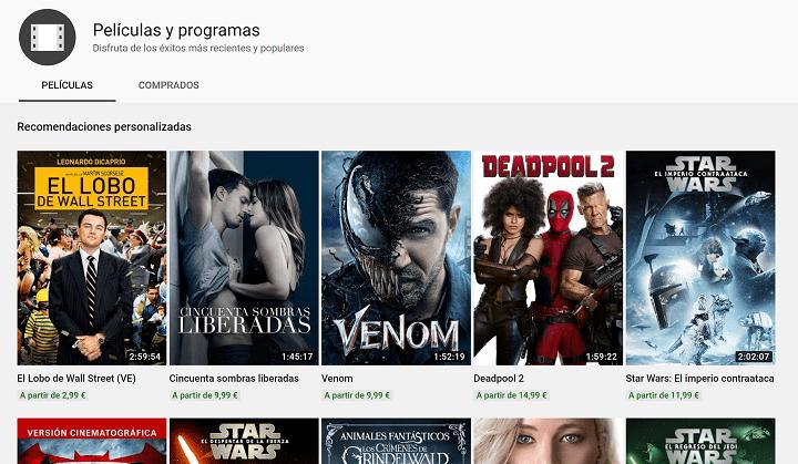 Imagen - Cómo ver películas gratis en YouTube y legalmente