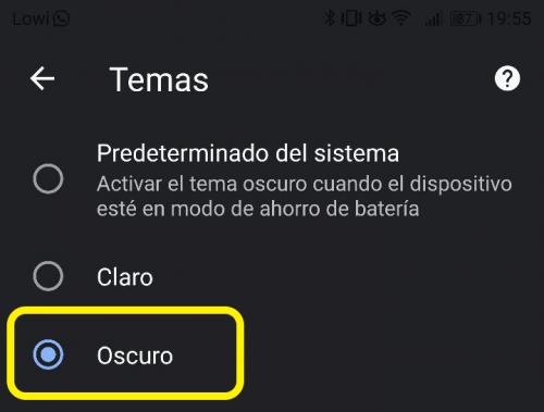Imagen - Cómo activar el modo oscuro en Chrome para Android