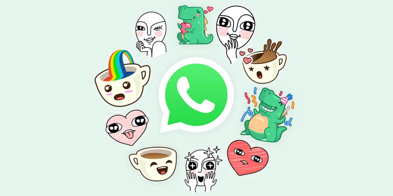 Dónde descargar stickers para WhatsApp