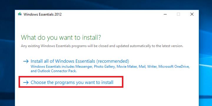Imagen - Cómo instalar Windows Live Essentials en Windows 10