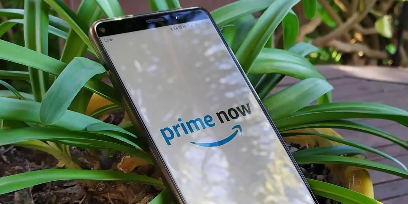 Cómo utilizar Amazon Prime Now