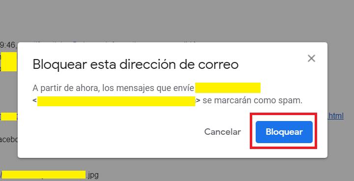 Imagen - Cómo bloquear un contacto en Gmail