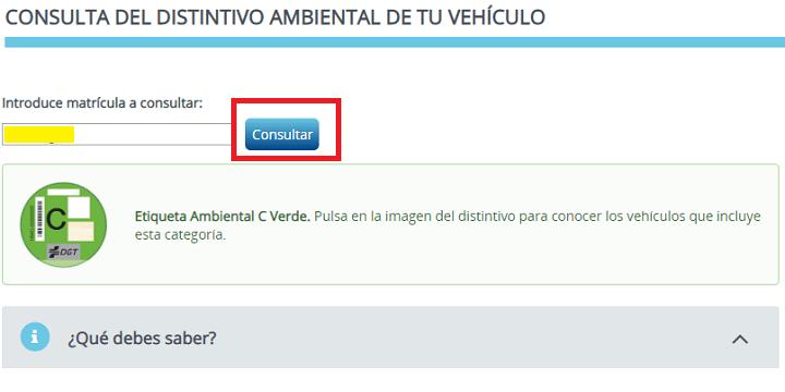 Imagen - Cómo consultar online el distintivo ambiental de tu vehículo