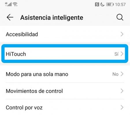 Imagen - Cómo desactivar HiTouch en un Huawei