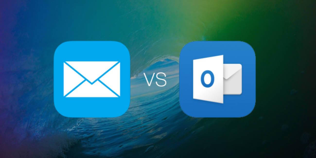 Mail vs Outlook en iOS 9