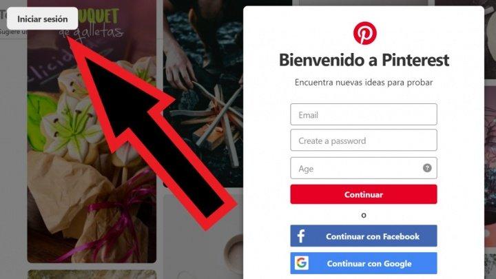 Imagen - Cómo iniciar sesión en Pinterest