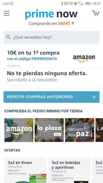 Imagen - Cómo utilizar Amazon Prime Now