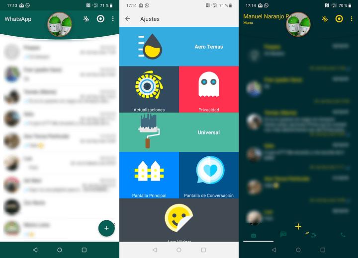 Imagen - WhatsApp Aero, una versión de la app con un diseño mejorado