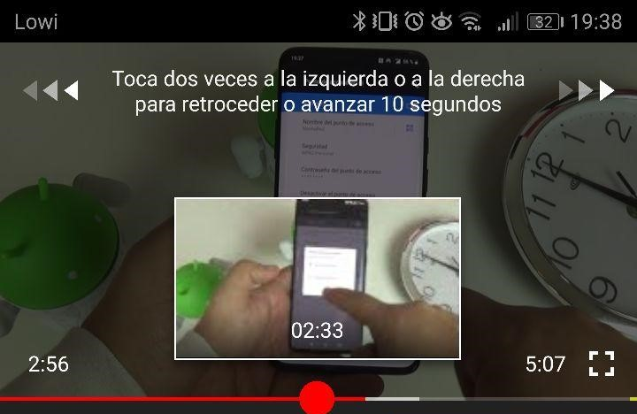 Imagen - Cómo rebobinar o adelantar un vídeo en YouTube