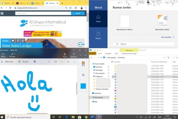 Imagen - Cómo dividir la pantalla en ventanas en Windows 10