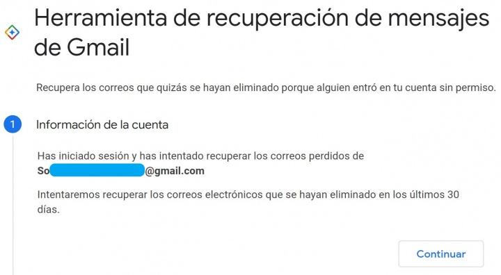 Imagen - Cómo recuperar un correo eliminado en Gmail