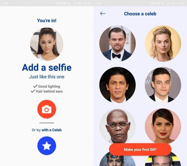 Imagen - Cómo poner tu cara en GIF: la nueva app deep fake viral