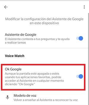 "Imagen - Cómo desactivar ""Ok Google"""