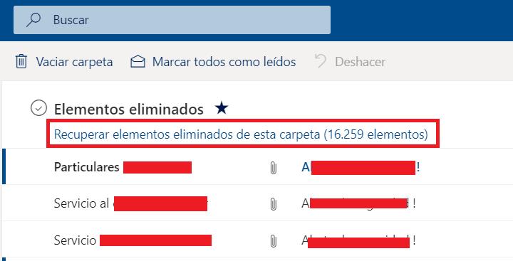 Imagen - Cómo recuperar un correo no deseado en Hotmail/Outlook