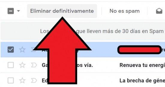 Imagen - Cómo recuperar un correo no deseado en Gmail