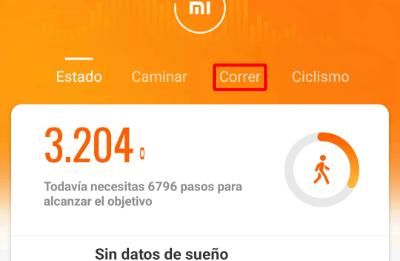 Imagen - Cómo registrar un ejercicio con la Xiaomi Mi Band
