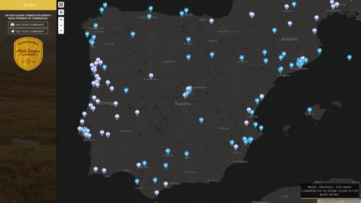 Pokemon Go Mapa Barcelona.Pokemon Go Mapas De Gimnasios Incursiones Y Comunidades
