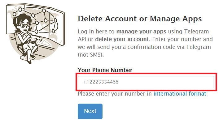 Imagen - Cómo eliminar Telegram