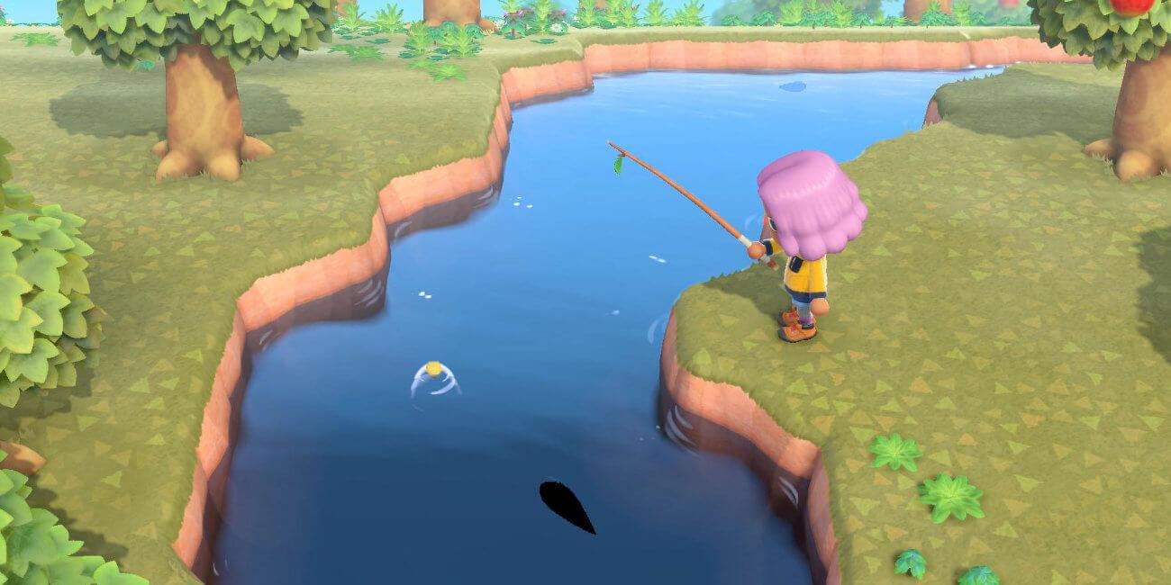 Cómo pescar al taimén en Animal Crossing: New Horizons