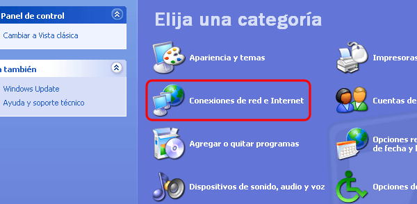 Imagen - Cambiar DNS en Windows XP