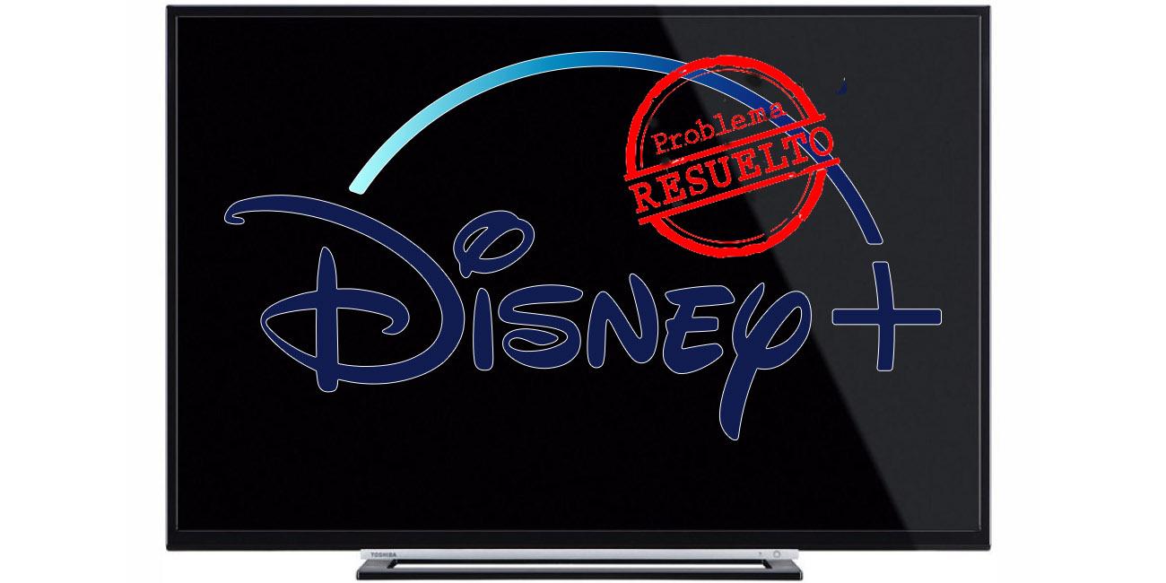 Disney+ no funciona en muchos Smart TV