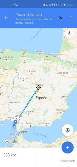 Imagen - Cómo calcular la distancia en Google Maps