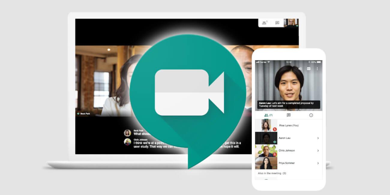 Meet, la app de Google para videollamadas