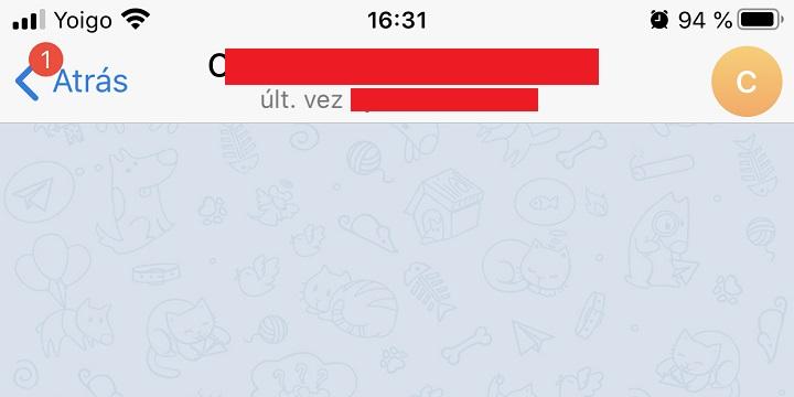 Imagen - Cómo saber si te han bloqueado en Telegram