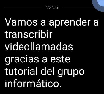 Imagen - Cómo transcribir videollamadas a texto