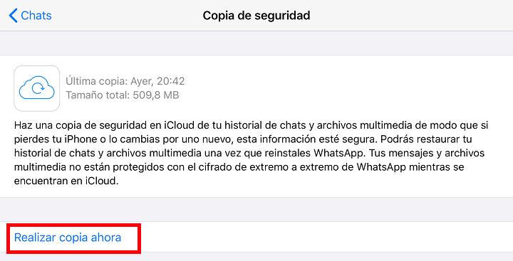 Imagen - Cómo volver a instalar WhatsApp