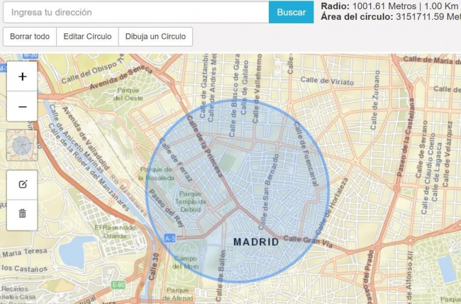 Imagen - Cómo hacer que el móvil nos alerte al llegar a 1km