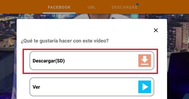 Imagen - Cómo descargar vídeos de Facebook en tu teléfono