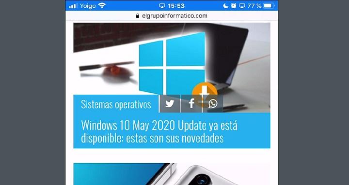 Imagen - Cómo compartir pantalla de iPhone a Windows