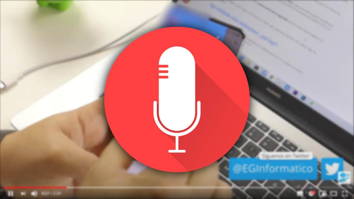 Cómo transcribir el audio de un vídeo a texto