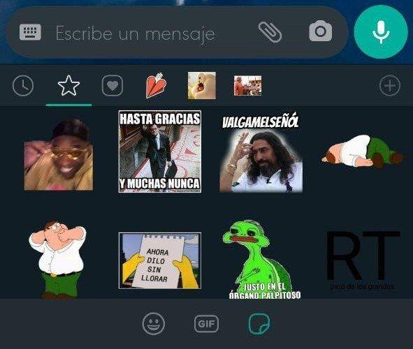 Imagen - 5 packs de stickers graciosos para WhatsApp