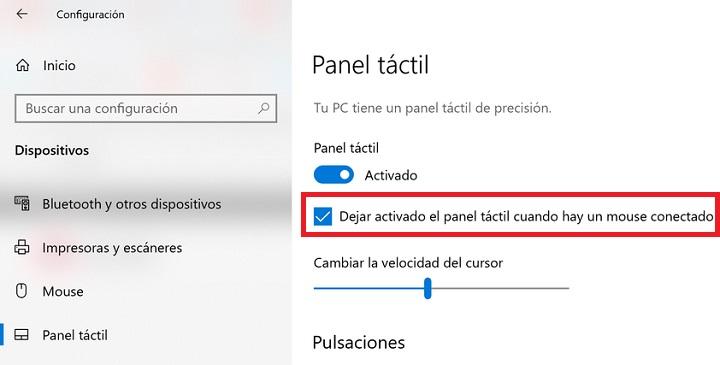 Imagen - Cómo deshabilitar el touchpad en Windows 10 al conectar un ratón