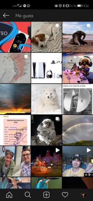 Imagen - Cómo ver las publicaciones que te han gustado en Instagram