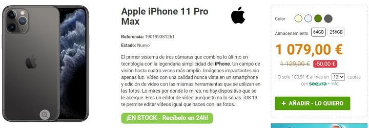 Imagen - iPhone 11 Pro Max barato: dónde comprarlo