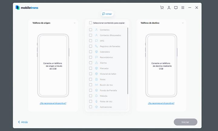 Imagen - Cómo transferir todos los datos entre dos teléfonos